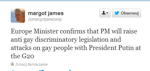 Twitter   margotjamesmp  Europe Minister confirms that ...