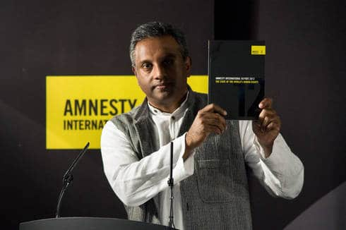 Salil Shetty Holds up Annual Report