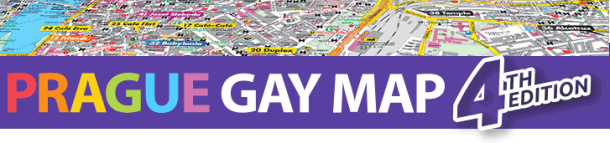 Prague gay map