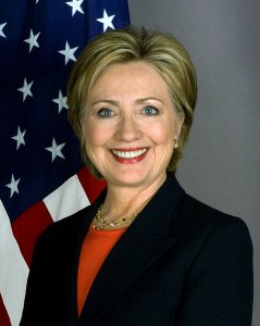 Hilary Clinton, sekretarz stanu USA
