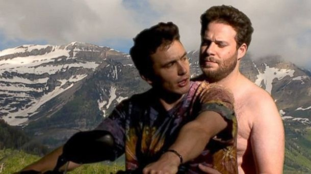 James Franco i Seth Rogen w teledysku do Bound 2 2