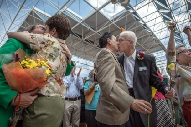 Nowy Meksyk, pary homoseksualne (Fot. Roberto Rosales (AP Photo/Albuquerque Journal, Roberto Rosales, File))